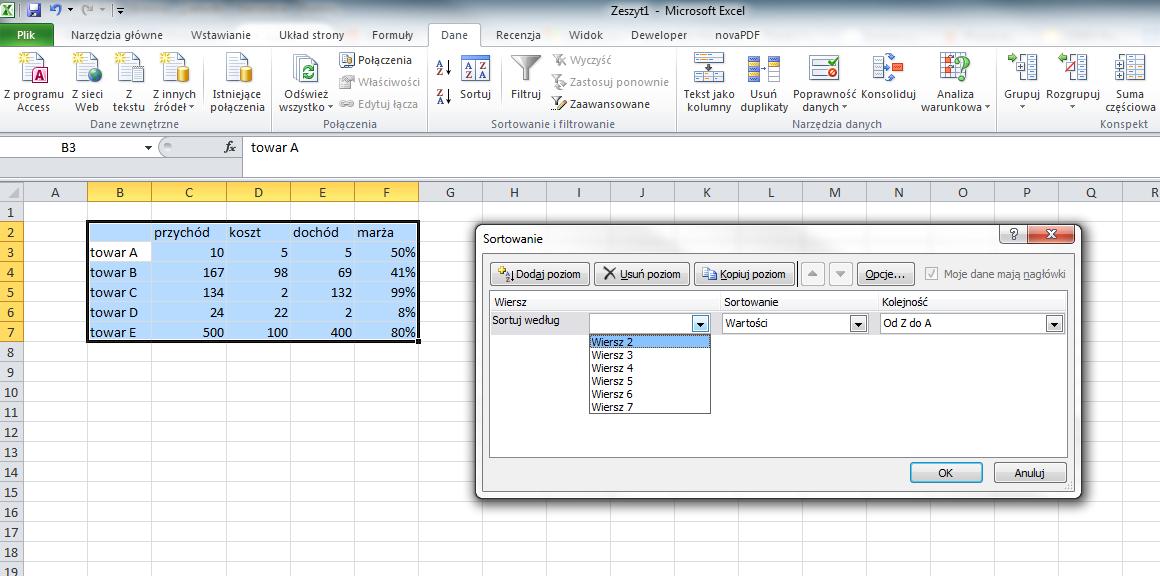 zmiana kolejności kolumn w Excelu - obrazek3